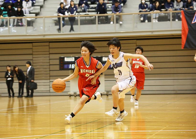 女子バスケットボール部 部活動 日本大学山形高等学校